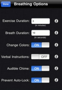 Long Deep Breathing App