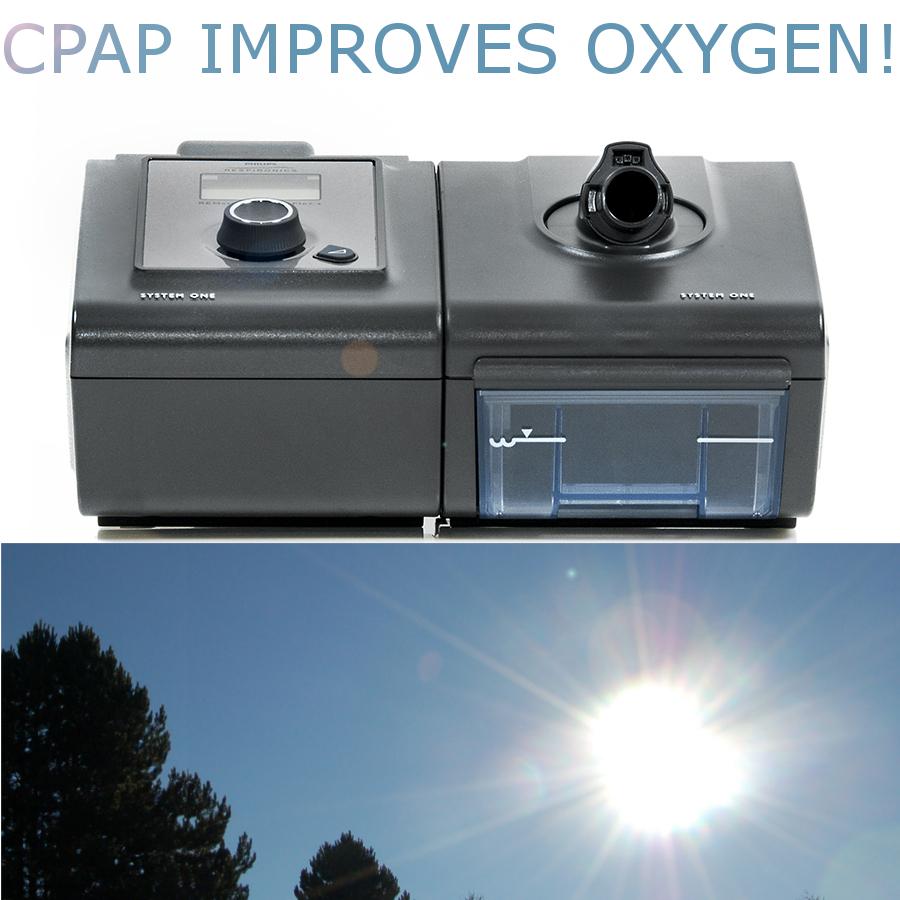 does a cpap machine oxygen